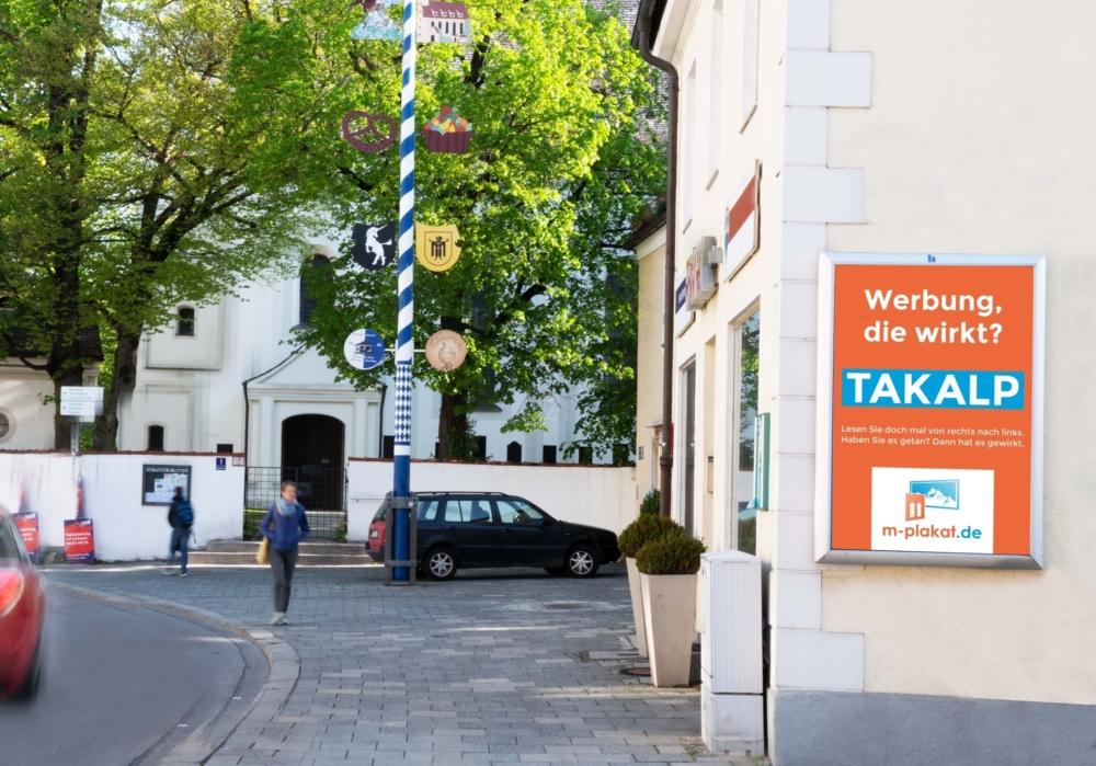Außen- und Plakatwerbung die wirkt im City Light Poster Format